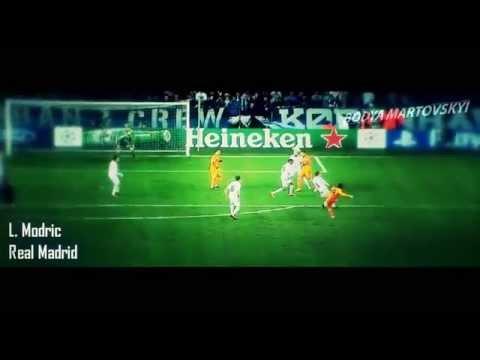 LOS MEJORES 10 GOLES UEFA Champions League 2013-2014 HD