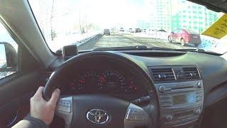 2011 Toyota Camry R4 POV Test Drive. MegaRetr