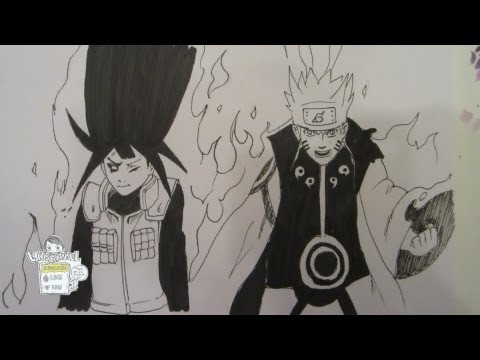How to draw Naruto rikudou mode and- Hinata ナルトヒナタ, Naruto and Hinata from Naruto chapter 615! Anyone can predict whats gonna happen next? :) ナルトヒナタ Music credits: Song: Connection Music Can Be Found Here: htt...