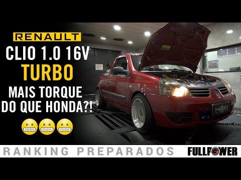 Quanto de potência tem o Clio 1.0 Turbo?