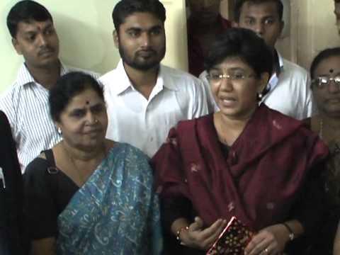 Vandana Chavan(MP)  took charge of Pune NCP presidentship (rare clip )