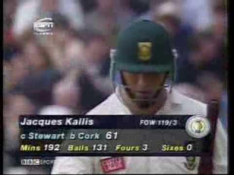 Jacques Kallis 61 vs England 1998