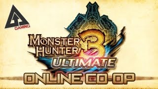 Monster Hunter 3 Ultimate Tutorial : Multiplayer Online Co
