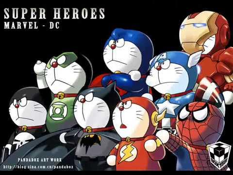 Ba Thằng Bạn Doraemon chế