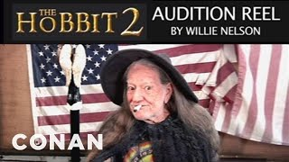 Willie Nelson: The Hobbit 2 Audition