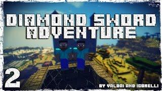 [Coop] Minecraft Diamond Sword Adventure. #2: Тайны пирамиды. (1/2)