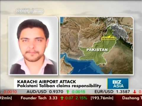 MIlitant gunmen attack Karachi airport in Pakistan