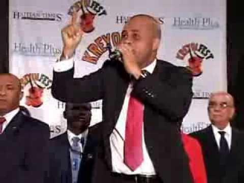 President Michel Martelly With Djakout Mizik  Carimi Creole Fest (2011)