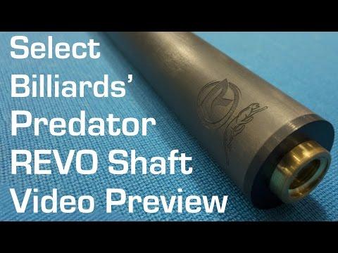 Predator REVO Shaft Preview by Select Billiards