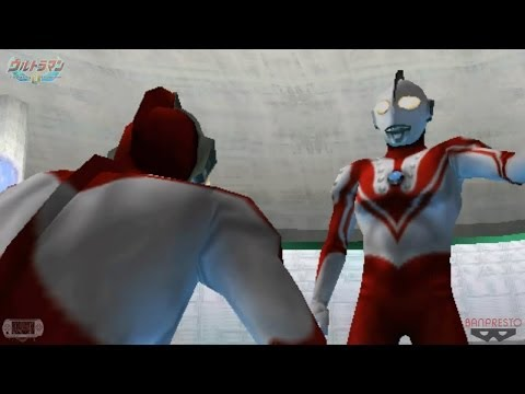 Ultraman Story Mode pt.1/4 ϟ Ultraman Fighting Evolution 0 ★PSPinG ウルトラマン