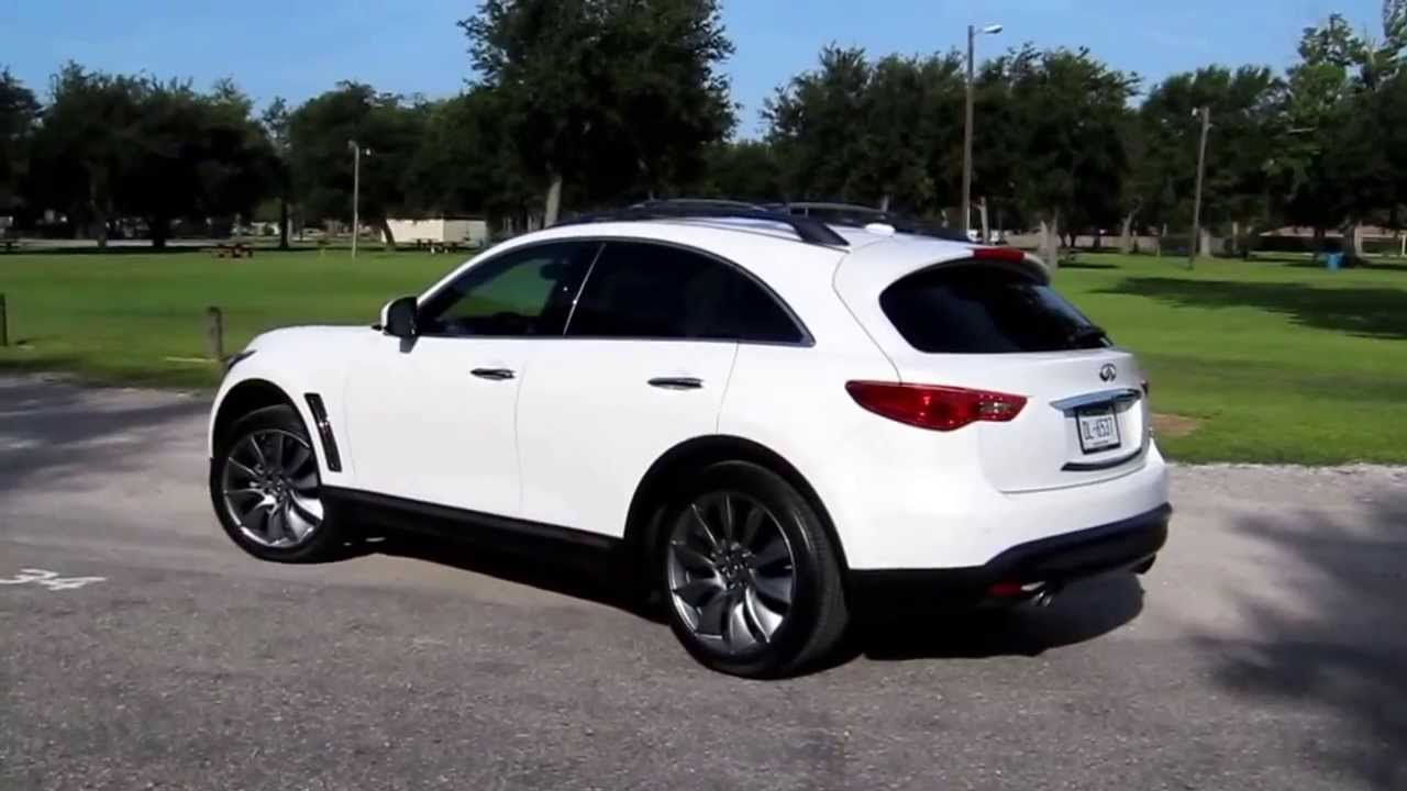 2013 Infiniti FX37 review on In Wheel Time radio - YouTube