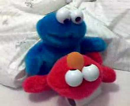 Elmo vs Cookie Monster - YouTube