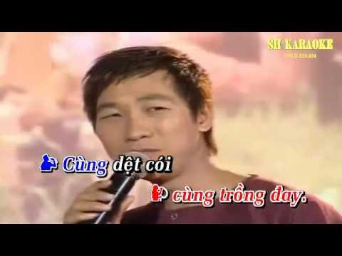 [Karaoke] Nang am que huong   Anh Dung   Thu Ha