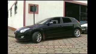 Assaltos em s�rie assustam moradores de Po�o Fundo no Sul de Minas