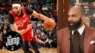 Carlos Boozer on Anthony Davis: You don't want to see his talent be wasted   The Jump   ESPN