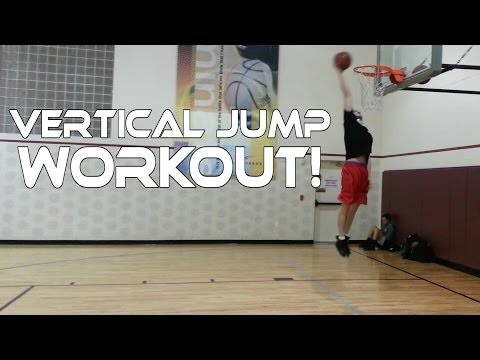 Vertical Jump Workout With Dunks - Learn How To Jump Higher!