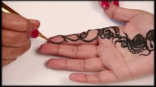 Simple Mehndi Design Tutorial In 3 Minutes