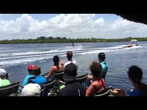 July 16, 2015 - Club Med Cancun - Waterski Show