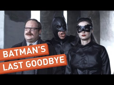 Batman Says His Goodbyes
