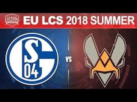 S04 vs VIT   EU LCS 2018 Summer Split Tiebreaker   Schalke 04 vs Vitality