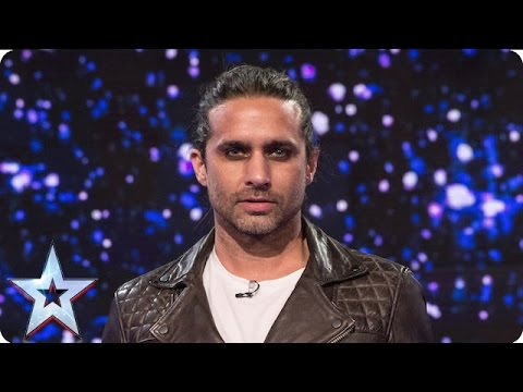 Ben Blaque puts his life in Alesha's hands! | Semi-Final 1 | Britain's Got Talent 2016
