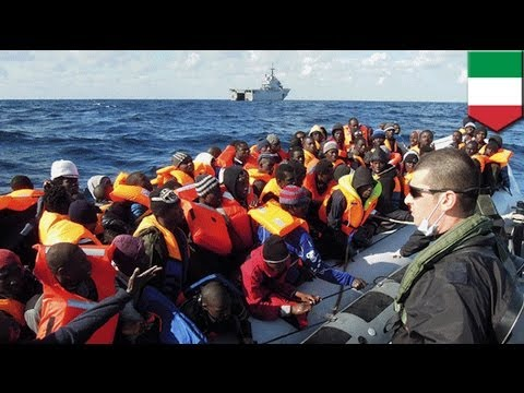 Italy rescues 1,100+ migrants south of Lampedusa