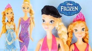 Disney Frozen Fashion Show Elsa And Princess Anna Barbie
