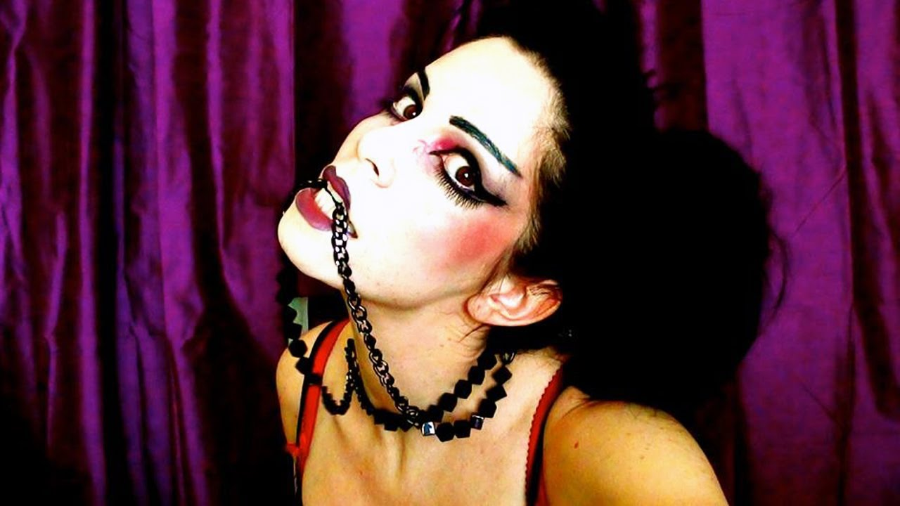 halloween maquillage halloween sexy scary geisha youtube. Black Bedroom Furniture Sets. Home Design Ideas
