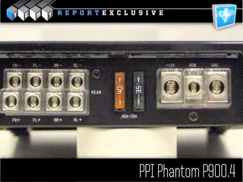 Precision Power P900.4 Amplifier Review