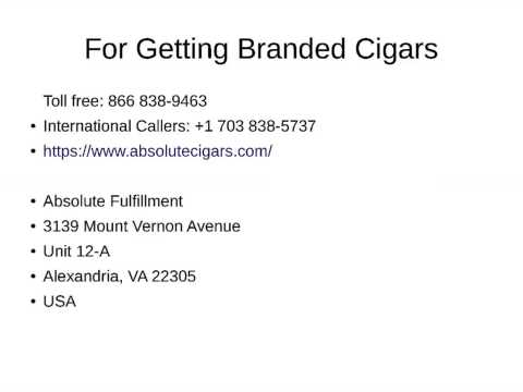 Get Your Favorite Cigars from International Cigar Company