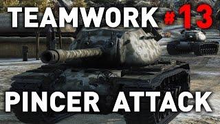 World of Tanks - Pincer Attack - Teamwork 13