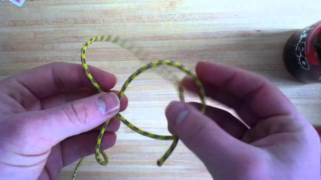 - Comment faire un noeud de chaise ...