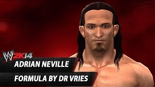 WWE 2K14: Adrian Neville CAW Formula By DrVries
