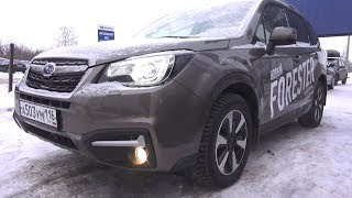 2017 Subaru Forester. Start Up, Engine, and In Depth Tour.. MegaRetr