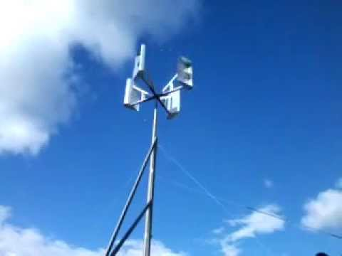 Generador Eólico Casero Colombia, Windmill homemade 2