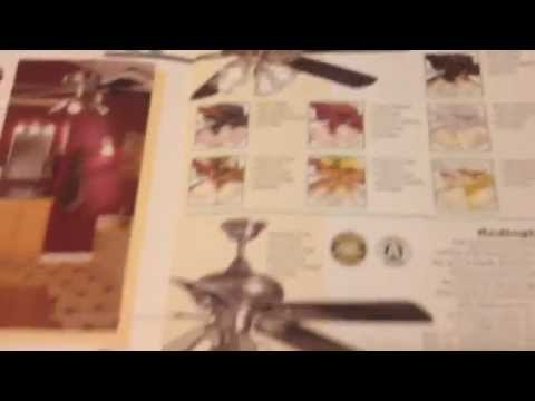 Home Depot Ceiling Fan Catalog 2001 Youtube