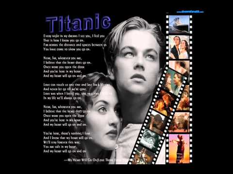 Titanic Movie - Celine Dion - My Heart Will Go On - (Instrumental)