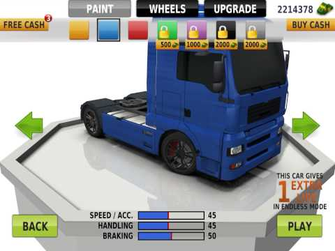 Traffic Racer all cars of upgrade