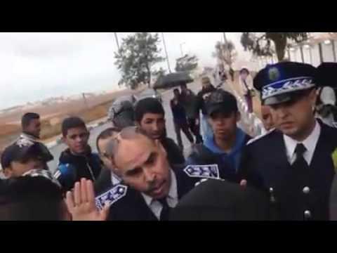 الأمن يمنع مسيرة تلمذية بسيدي إفني