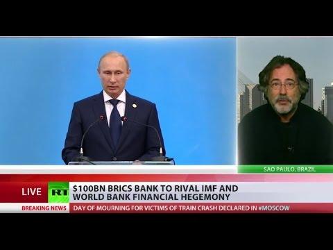 Escobar: BRICS bank on its way to beat casino financial system