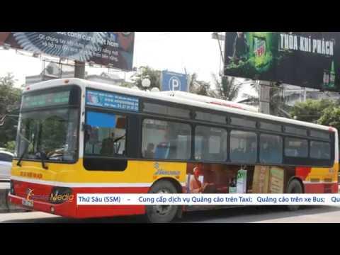 Thuốc ho Bảo Thanh quảng cáo trên xe bus tại Hà Nội [SSM.VN]