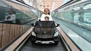 TOY Hunt Shopping In Supermarket - Power Wheels Ride On Car   Toys AndMe