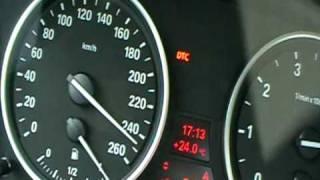 BMW 550i Beschleunigung 20-250 Kmh E60 FL Schaltgetriebe