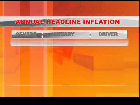January Inflation increase to 6.9 %