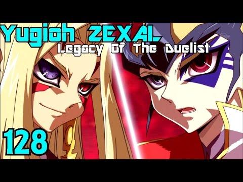 Yu-Gi-Oh Zexal Legacy of the Duelist | Episode 128 Kite Tenjo Vs Mizar
