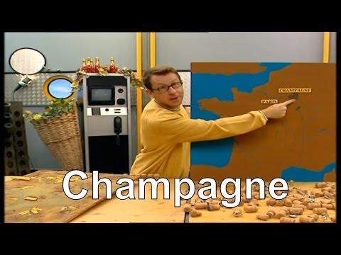 Où le Champagne est-il produit ? - C'est pas sorcier