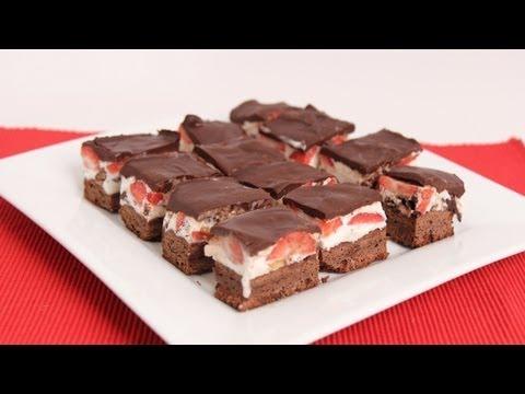 Brownie Ice Cream Bars Recipe