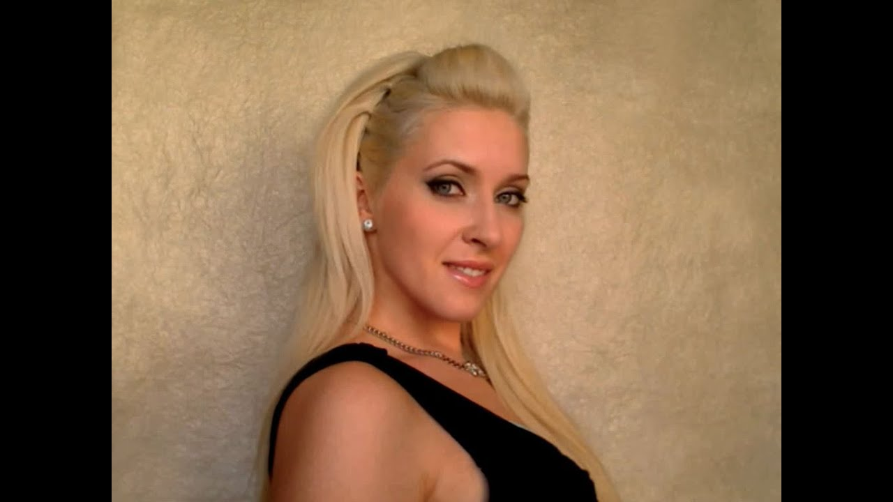 rockstar party hair tutorial for medium long hair coiffure. Black Bedroom Furniture Sets. Home Design Ideas