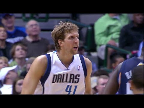 Dirk Nowitzki Full Highlights vs Grizzlies - 24 Points 6 Rebounds (2013.11.02)