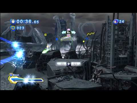 Sonic Generations - Boss Battle / Perfect Chaos - S Rank